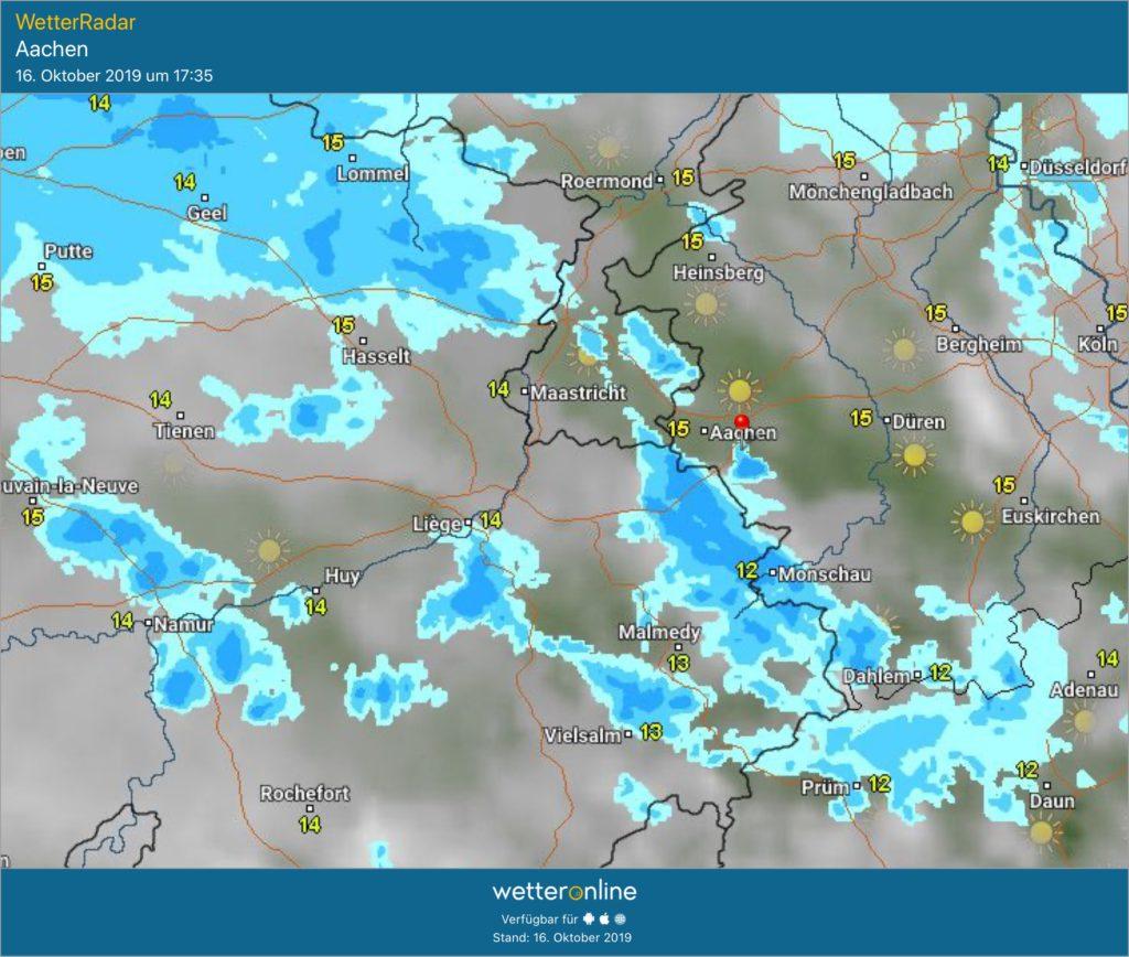 Wetter Aachen 14 Tage